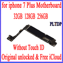 Original Motherboard For iPhone 7Plus 100% Unlocked Mainboard Without Touch ID IOS Logic Board With Chips,Good Working