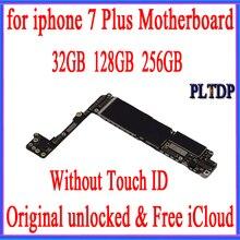 Originele Moederbord Voor Iphone 7Plus 100% Unlocked Moederbord Zonder Touch Id Ios Logic Board Met Chips, Goed Werkende