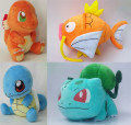 "12"" Bulbasaur Plush Toys Squirtle Charmander Magikarp Stuffed Toys Japanese Anime Cartoon Plush Dolls Birthday/Christmas Gifts"