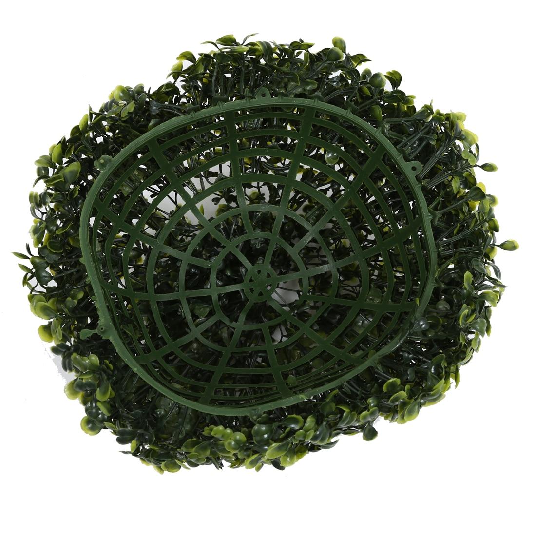 Artificial Green Hanging Grass Plant Ball Ornament Party Decoration Garden Home Decor Diy 30cm China