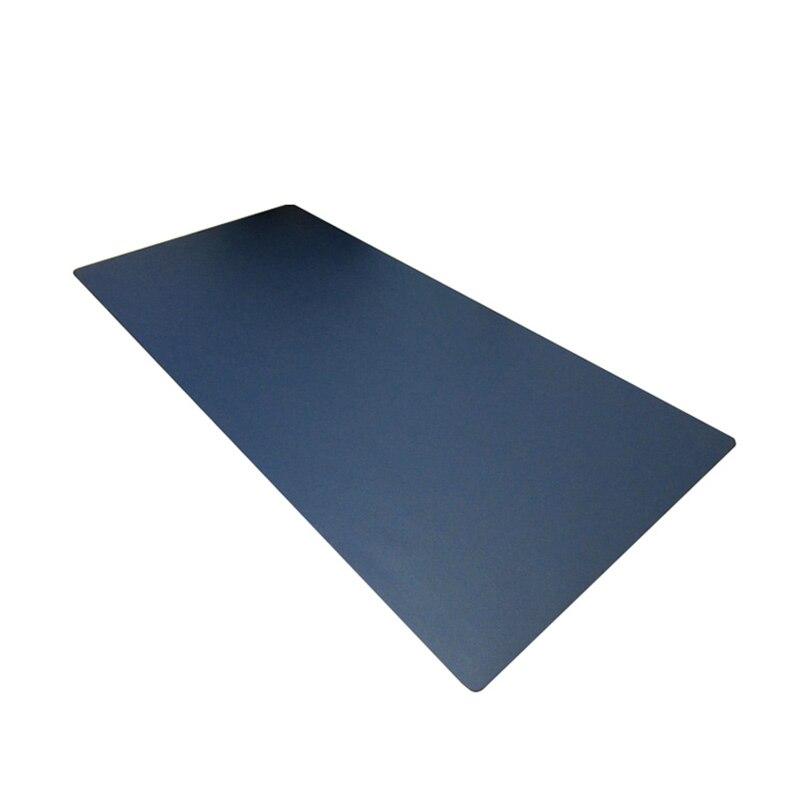 Nouveau ESLOTH imperméable 900*500 MM antidérapant tapis de souris de jeu PU cuir Surface de transport Base surpiquée bords souris grands tampons grand