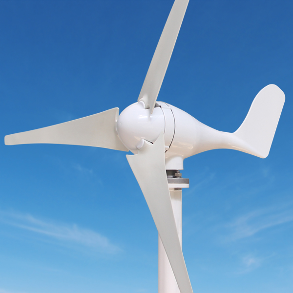 300W/400W Mini Wind Turbine Generator DC 12V/24V Wind Power Permanent Magnet Generator + 600W Wind Energy Controller