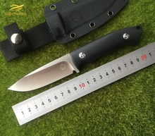 NIGHTHAWK  VG-10 blade G10 handle fixed blade hunting straight knife KYDEX Sheath camping survival outdoors EDC knife tools