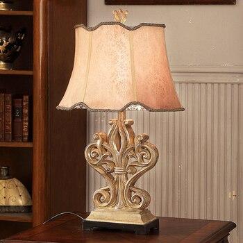 Lámpara de mesa Led con Lustre para sala de estar, dormitorio, lámpara...