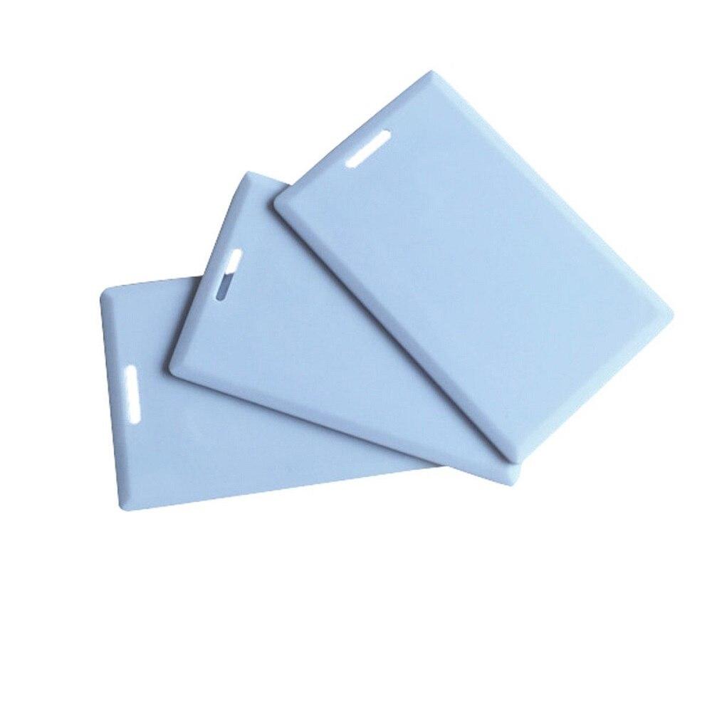 купить 125Khz Rewritable RFID ID Card Copy Clone Blank Card In Access Control Card EM4305 по цене 44.2 рублей