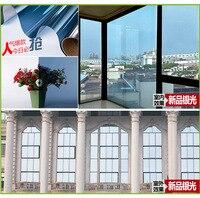 45 см x 20 м кольцо солнечное окно фильм самостоятельно adhensive Anti UV теплоизоляция декоративные оконные пленки Фольга для Privavy защиты
