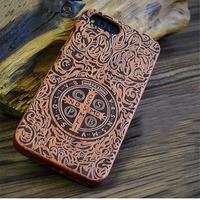 For Xiaomi Mi 6 Case Cover Mi6 Back Cover Hard Protective Wood Phone Capas Luxury Boogic