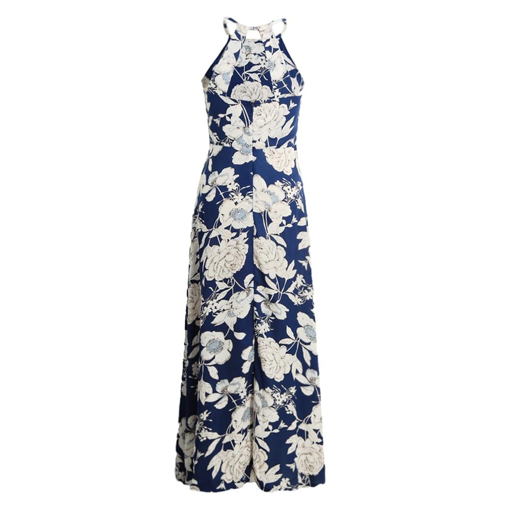 Boho Floral Vintage Long Dress 17
