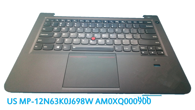 Laptop PalmRest keyboard For Lenovo For Thinkpad S3-S431 S440 S431 US GR UK Touchpad Original MP-12N63 Keyboard Bezel Cover gzeele new for lenovo thinkpad s1 yoga keyboard bezel palmrest cover with touchpad and connecting cable 00hm067 00hm068 black c