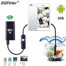 WIFI Nội Soi Máy Ảnh Android Nội Soi Máy Ảnh Mini Linh Hoạt Rắn Mềm Kiểm Tra Cáp IP Máy Ảnh 8mm USB Rechargable IOS Điện Thoại