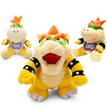 Супер Марио Bros Плюшевые игрушки 18-24 см Bowser JR Koopa Bowser Dragon плюшевые куклы Братья Мягкие плюшевые