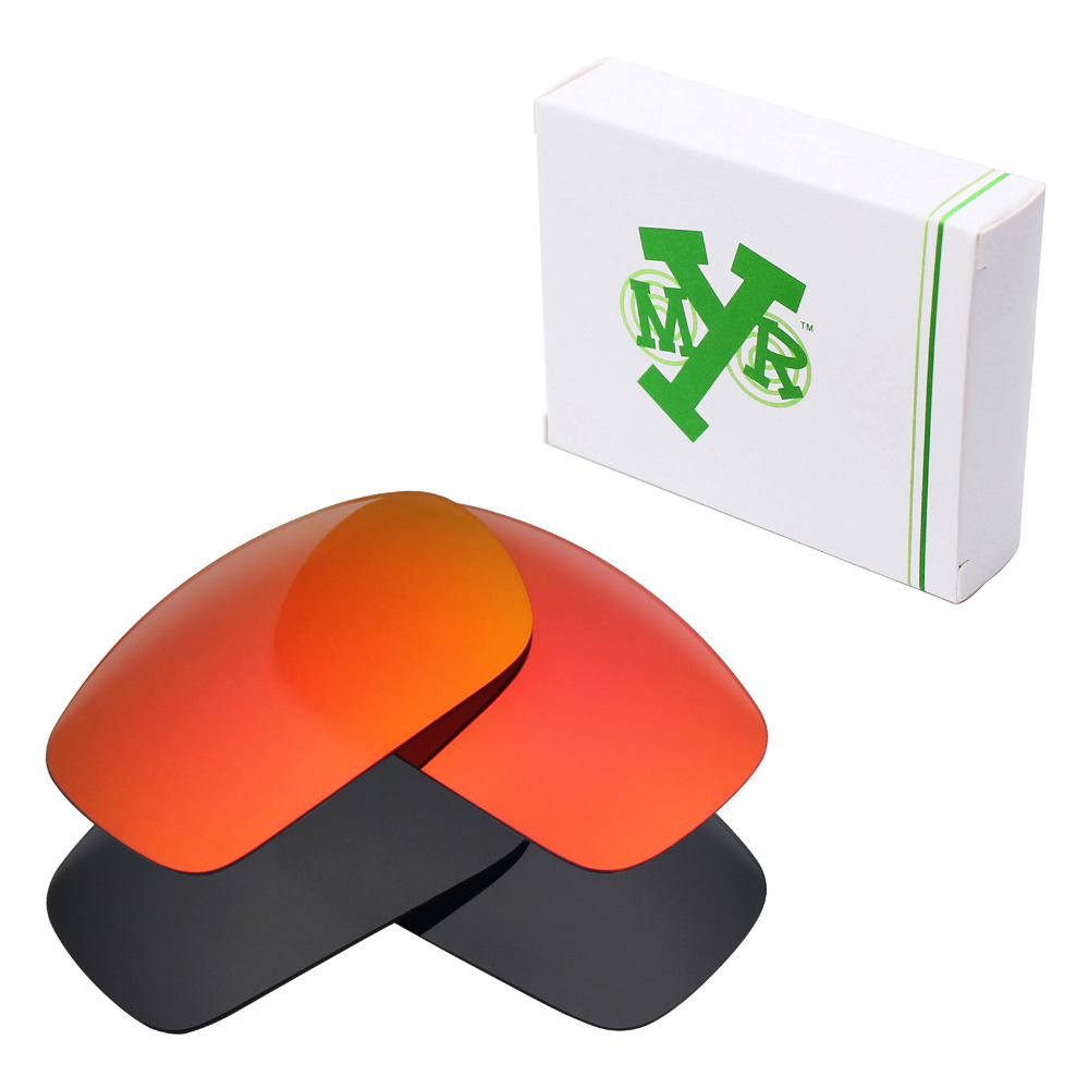 ᓂ2 Pairs Mryok POLARIZED Replacement Lenses for Oakley X Squared ...