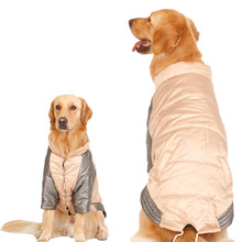 New Winter Warm Pet Clothes Cotton Keeping Coat for Medium and Big Dog Supplies Accessories