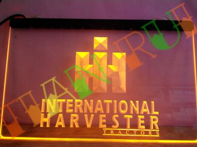Lg133 international harvester tractor led neon light sign for International home decor stores