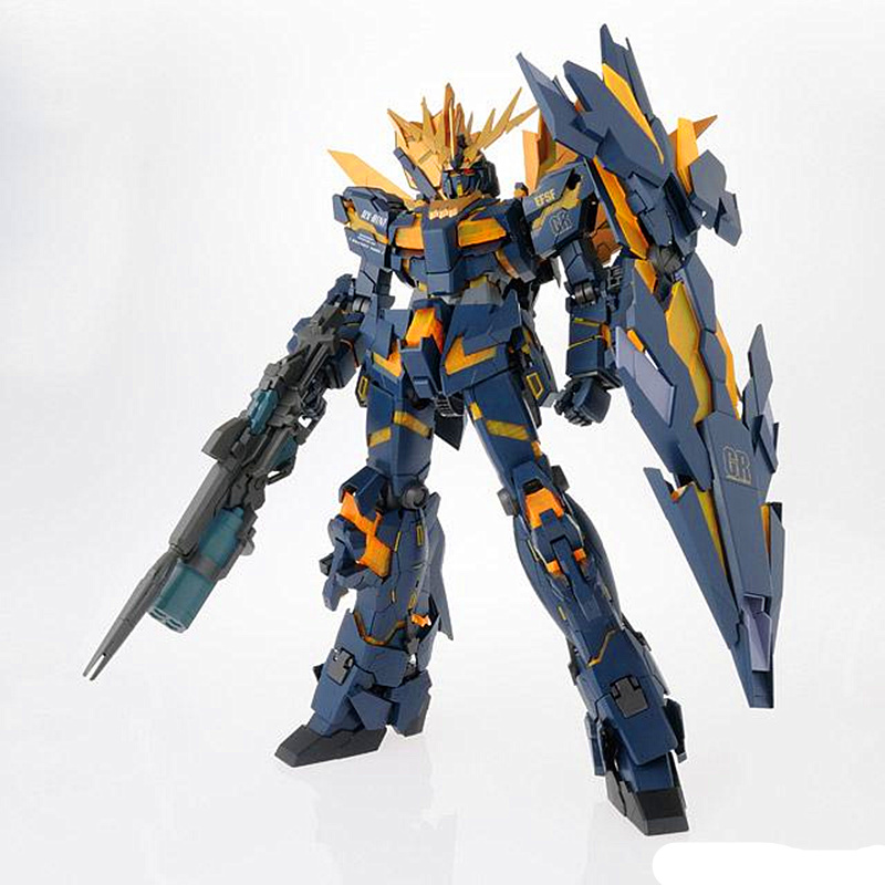 Daban Gundam 1/60 PG RX-0 Unicorn Gundam 02 Banshee Assembled Model*