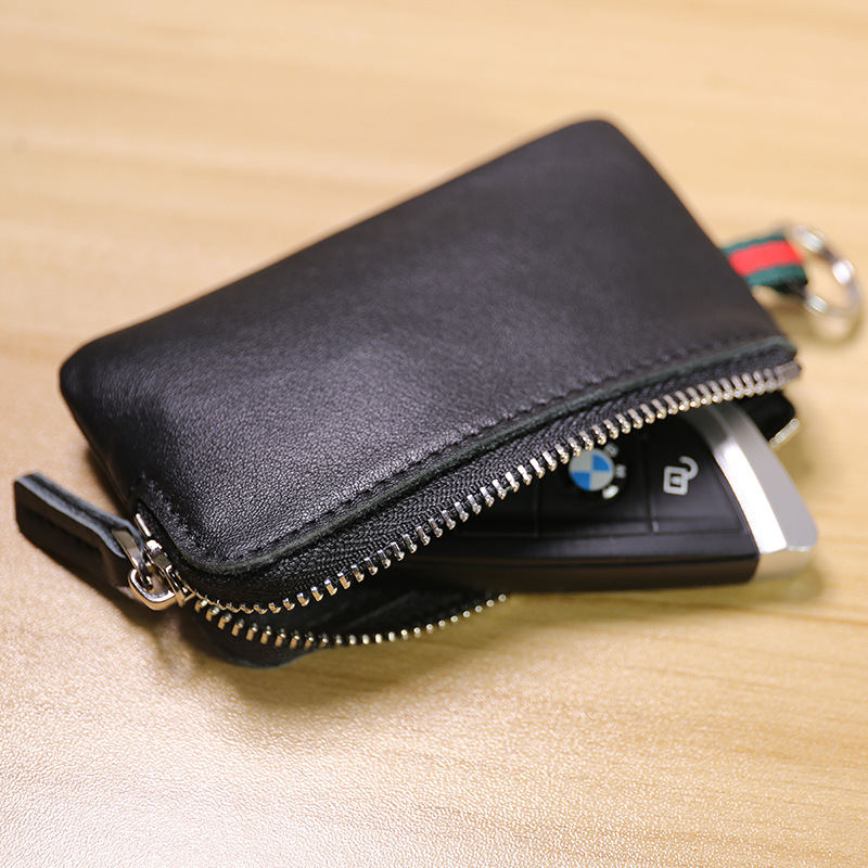 SIKU Men's Leather Coin Purses Holders Fashion Key Wallet Fashion Key Holder