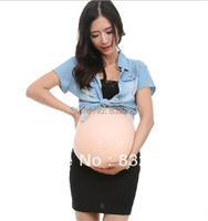 FREE SHIPPING FAKE SILICONE PREGNANCY PLUS 5000 GR SILICONE BELLY STOMACH BABY BUMP
