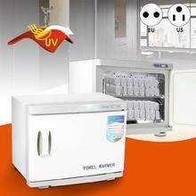 2 в 1 шкаф для УФ-стерилизации полотенец теплее инструмент для салонов красоты лица полотенце теплее машина 23L AU/US 220 V