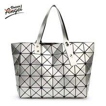 Heißer Verkauf Mit Logo BAOBAO Bag Folding Handtasche mode handtaschen Bao Bao Tasche Mode Lässig Fashion Frauen Tote Japan qualität