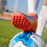 2017 newest hot sale grass nail football shoes men and women TF cleats indoor training soccer boots kids boys botas de futbol