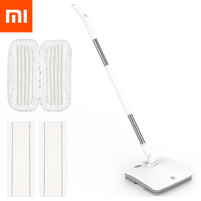 xiaomi mijia swdk wireless handheld electric mop wiper floor washers built in 2000mah battery. Black Bedroom Furniture Sets. Home Design Ideas