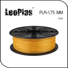 Worldwide Fast Delivery Direct Manufacturer 3D Printer Material 1 kg 2.2 lb 1.75mm Gold PLA Filament