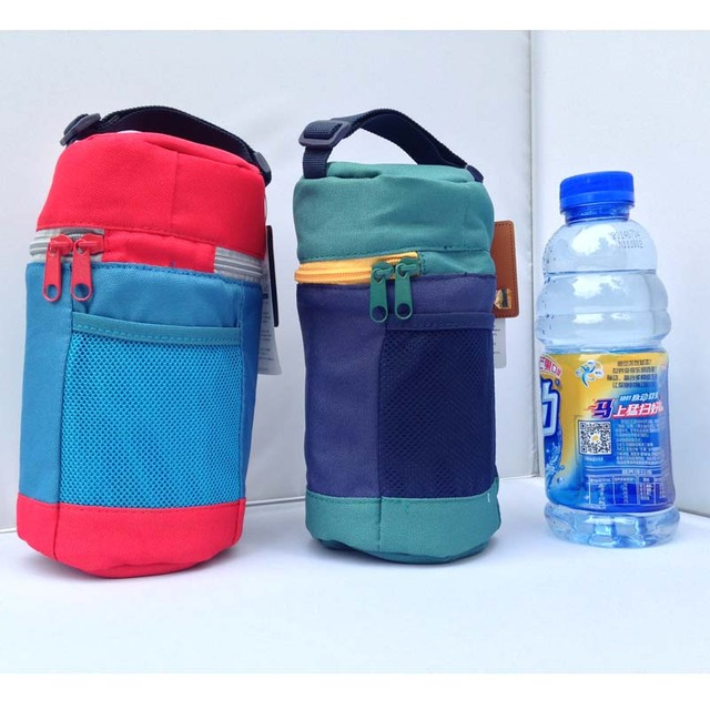 New Travel Zipper Baby Kids Feeding Milk Bottle Warmer Insulation Bag Storage Holder Carry Cover