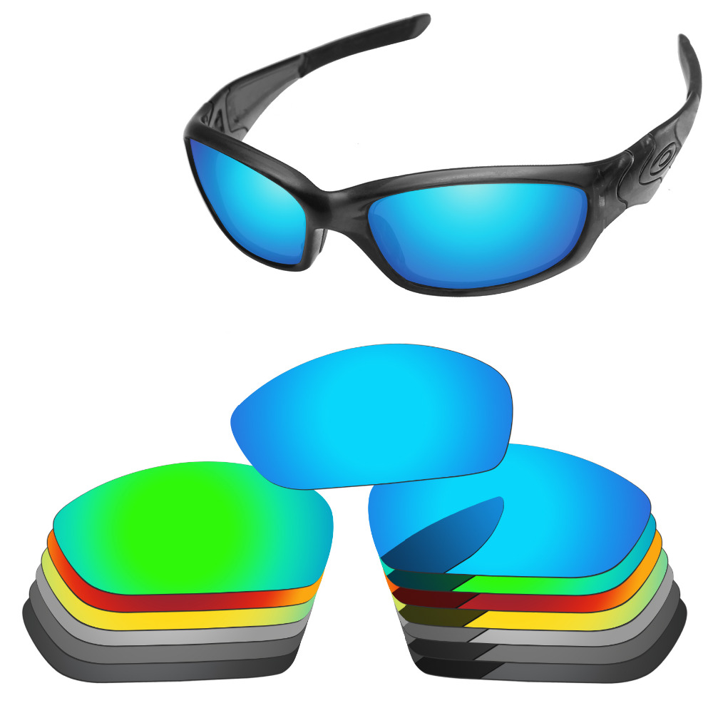 PapaViva POLARIZED Replacement Lenses for Authentic Straight Jacket 2007 Sunglasses 100% UVA & UVB Protection - Multiple Options