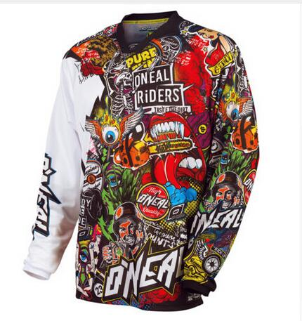 Quick Dry Bicycle Jersey MTB Off Road Mountain Bike DH Bike Jersey Motocross Jersey Bike Clothes 18 new Model