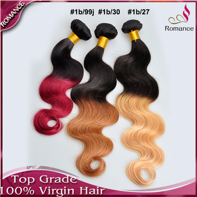 7a ombre hair extensions blonde brown and burgundy ombre brazilian 7a ombre hair extensions blonde brown and burgundy ombre brazilian hair human weave bundles 3pcs human pmusecretfo Image collections