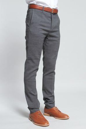 2016 Autumn Dark Gray Slim Formal Mens Dress Pants Man Western Suit Wedding Men Trousers ...