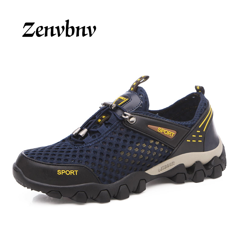 ZENVBNV Spring 2018 Men Hiking Shoes Man Brand Outdoor Athletic Camping Sport Shoes Hunting Trekking Climbing Mens Sneakers