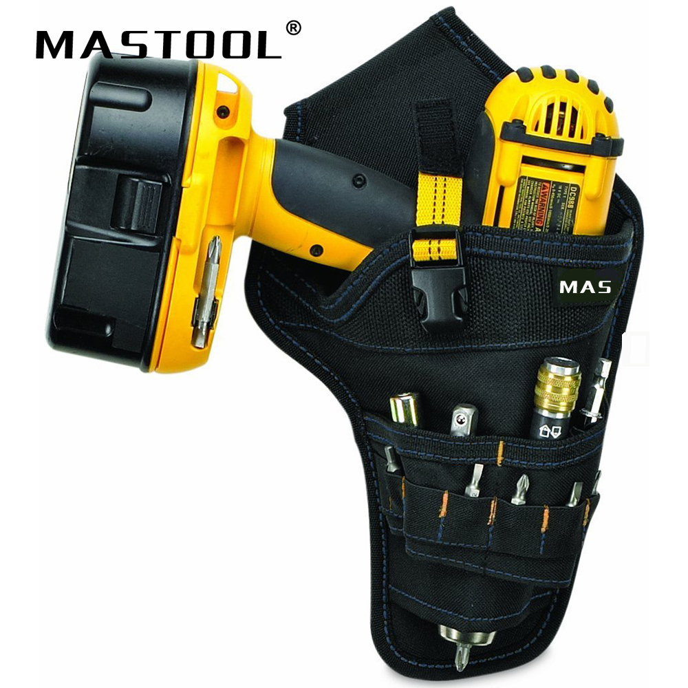 Electrician Waist Belt Organizer Bag 600D Oxford Matirial Durable Hardware Electric Drill Tool Bag Working Tool Pouch Bag