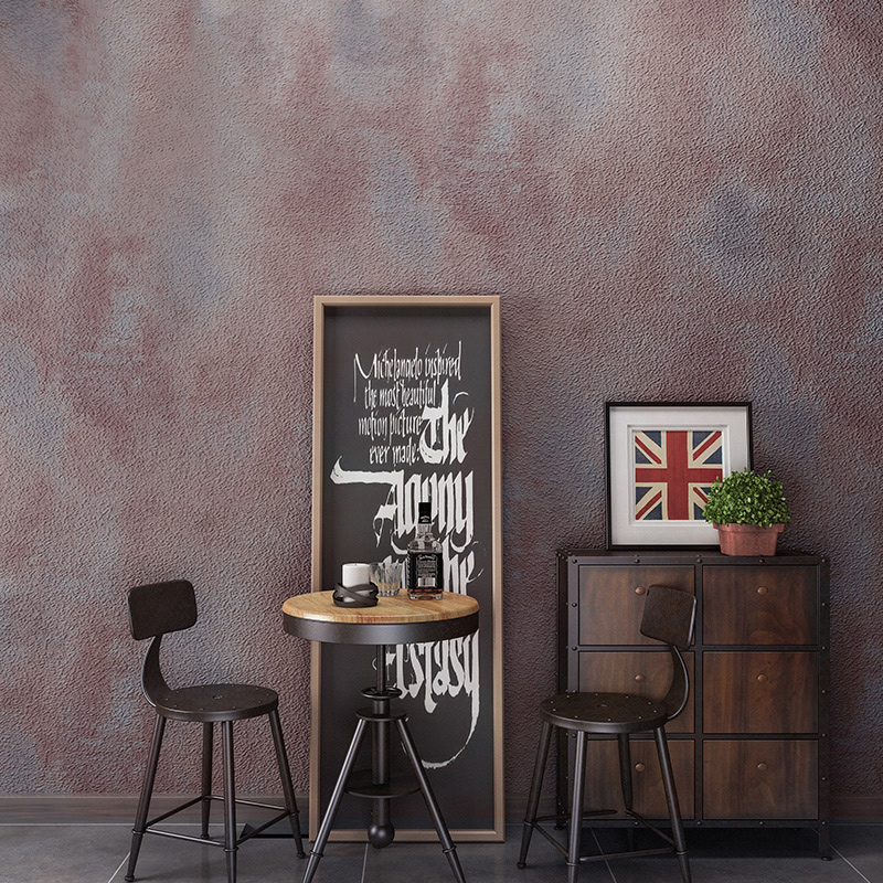 Vintage Wallpapers Home Decor Solid Color Cement Wallpaper Rolls Waterproof Wall Paper Decorative Bedroom Wallpaper Roll 3d modern wallpapers home decor solid color wallpaper 3d non woven wall paper rolls decorative bedroom wallpaper green blue