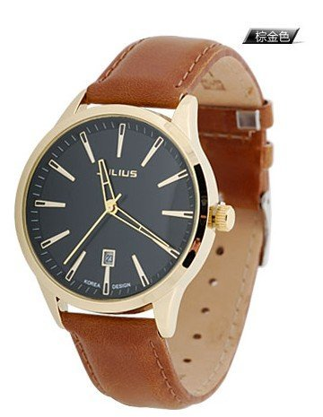 julius Men's watches Calendar Korean fashion watches Watch England A variety of colors Free shipping