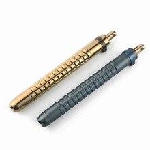 EDC Outdoor Portable Gadgets Defense Pen Titanium alloy Cool Stick Tengmeixi Shell Multi Tools Camping Tritium Gas Tube