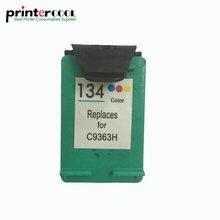 einkshop 134 Refilled Ink Cartridge Compatible for HP Deskjet 5743 6623 6843 6523 5943 6943 6983 7313 7413 2713 printer
