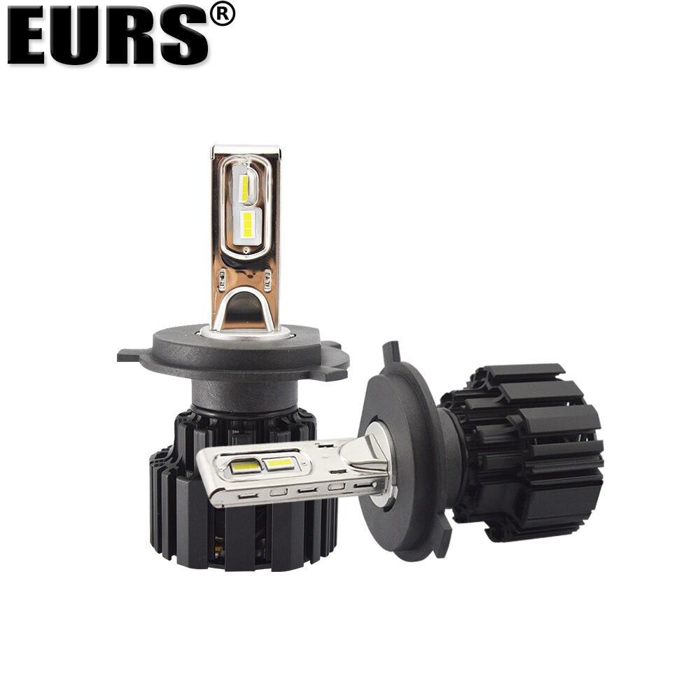 EURS Бесплатная доставка супер яркий P9 автомобильная светодиодная лампа для фары 100 Вт 13600lm фары 6000K H4 H7 H11 9005 9006 9012 фары автомобиля - 4