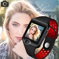 BANGWEI 2018 Новый Для мужчин Смарт часы Для женщин Спорт шагомер светодиодный цифровой Для мужчин наручные часы sim карту Камера музыкальный плее