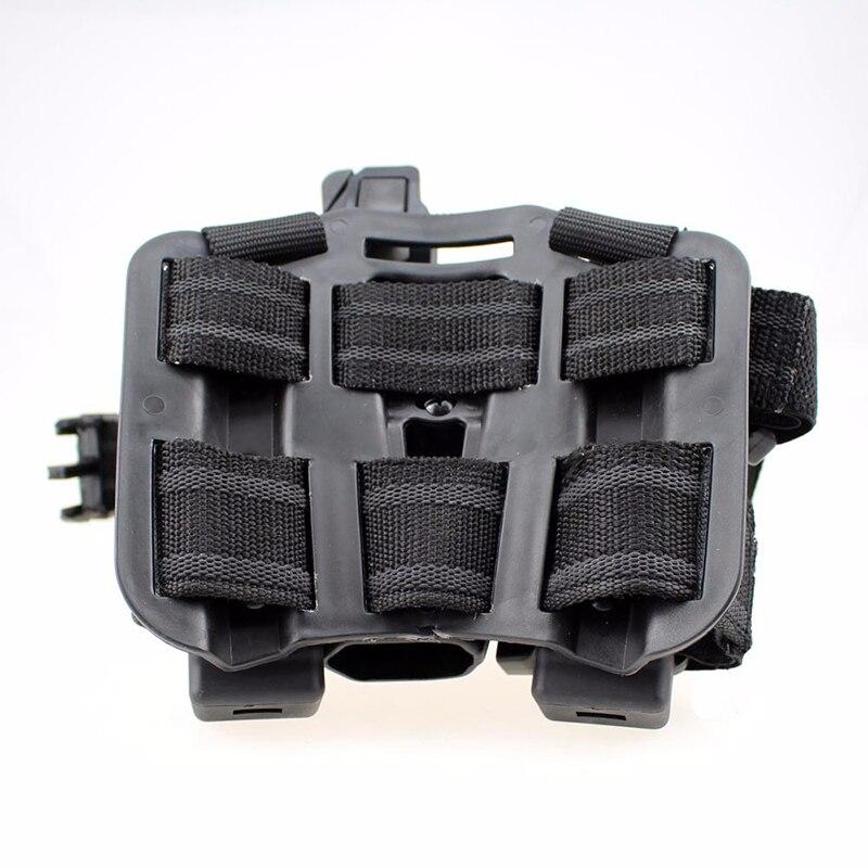 Étui tactique Glock pour jambe cuisse droite pagaie ceinture niveau pistolet pistolet étui avec poche torche pour Glock 17 19 22 23 31 - 6