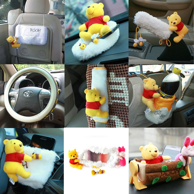for Winnie the Pooh cartoon cute plush Jushi supplies automotive