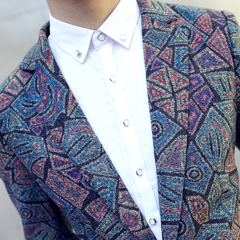 Fit Taille Blazer Floral Tideway Poitrine m Slim Unique Robe Laine De Grande Belle Hommes Printemps Casual Mariage 5xl 9DWE2HIY
