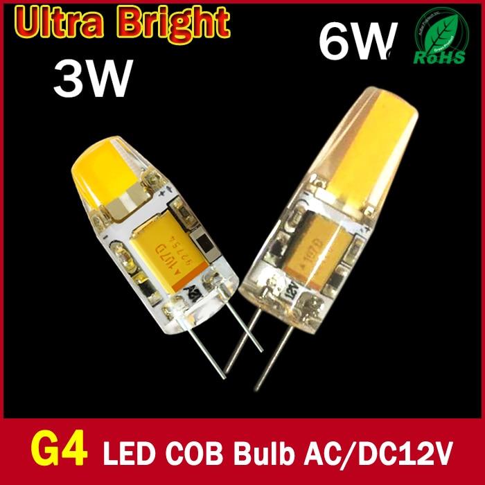 Super Helle G4 LED 12 V DC AC 12 v COB Led...