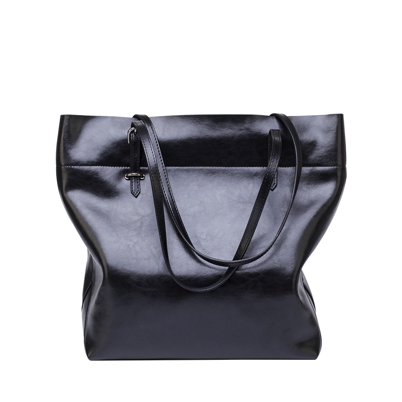 Large Capacity Casual Tote Handbag 2018 For Women Bag Brand Leather High Quality Ladies Package Shopping Shoulder Soft Bags soft canvas design wonen handbag casual tote bags large capacity zipper organizer coin phone key single shoulder bag for ladies
