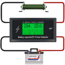 Power supply Current Meters digital DC voltmeter ammeter voltage meter Battery Testers capacity volt current wattmeter detector