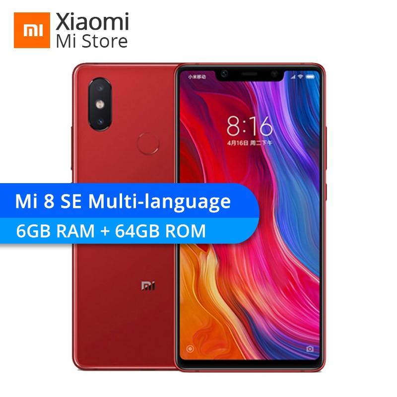 "Earnest Xiaomi Mi8 Se 6gb Ram 64gb Rom Mi 8 Se Snapdragon 710 Octa Core 5.88"" 18.7:9 Full Screen 2244x1080 Dual Rear Camera Smartphone Attractive Appearance"