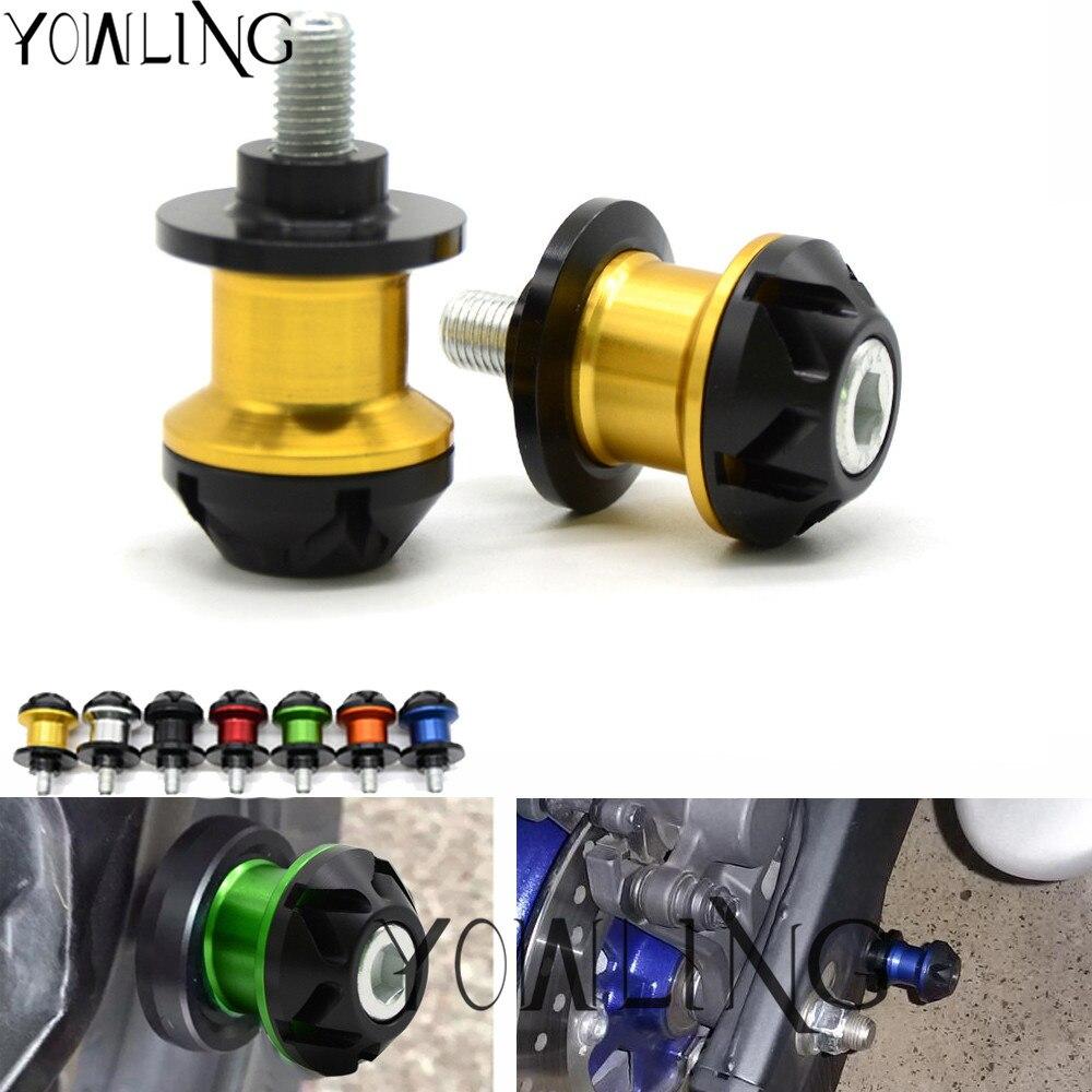 M8 Motorcycle Swingarm Spools slider For Suzuki SV650 SV1000 SV650/1000 GSXR 600 750 1000 V-Strom 650 1000 B-king TL1000 DL650