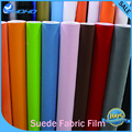 "suede fabric material car wrapping Stickers velvet vinyl car decals film 12""*53""/1.35*0.3m/pcs 3MIL"