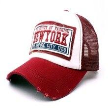 Gorra de béisbol de verano bordado malla Cap sombreros para hombres Gorras  Hombre sombreros Hip Hop 78f14fb48a6