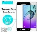"""Cobertura completa de Cristal Templado de cine para Samsung Galaxy A3 2016 4.7 """"película de vidrio de La Cubierta Completa 3D Películas Protectoras de pantalla de Borde Curvo"""